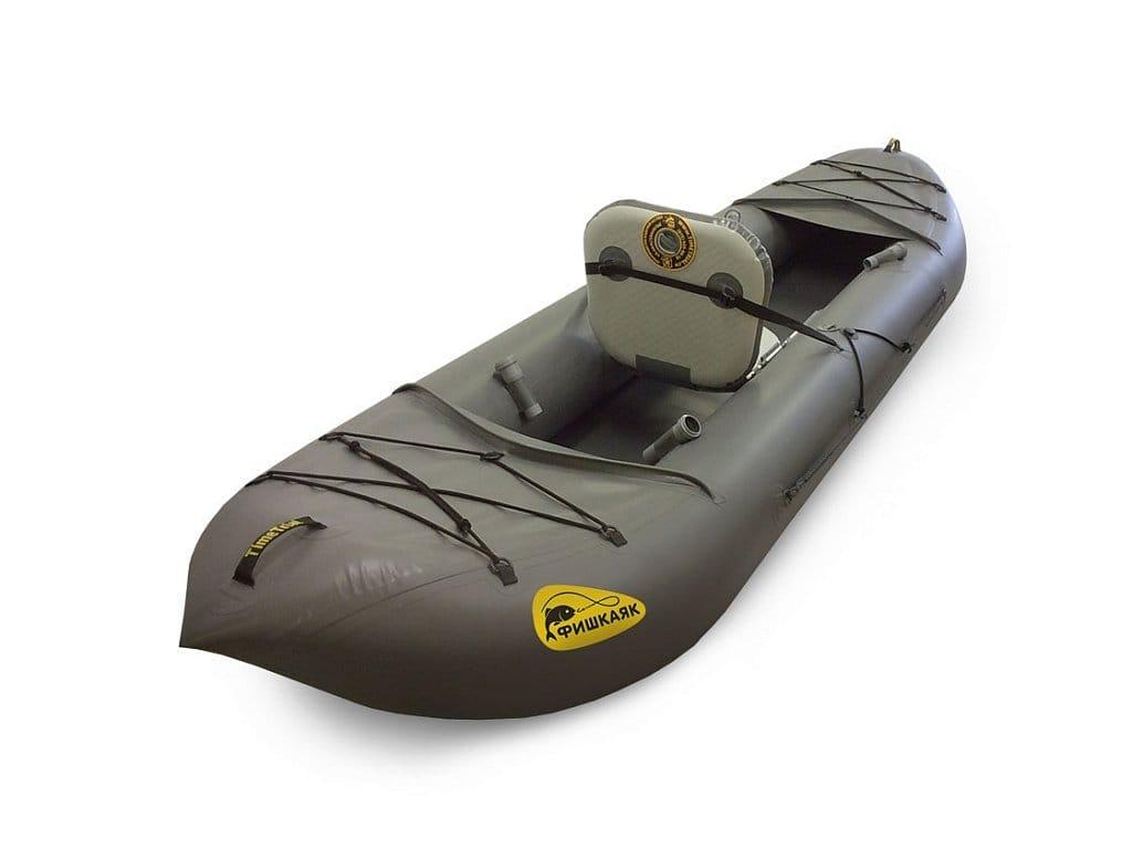 Фишкаяк — надувная лодка ПВХ для рыбалки