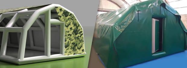 Проектирование надувной продукции