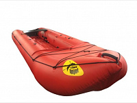 Inflatable canoe «KATABAID» (can be equipped with motor) 40cm tube