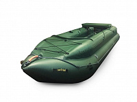 Inflatable canoe «KATABAID-1F» with a splash board (equipped with a transom)