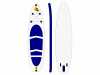 "Inflatable surfing SUP board ""Sport 11"" by Time Trial"