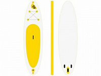 Inflatable surfboard Yoga 10,8` by Time Trial