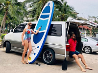 "Inflatable surfboard ""Walking 12,5`"" by Time Trial"