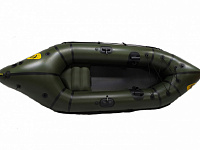 FishPackraft Tank – strong inflatable packraft for fishing