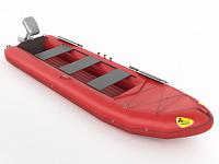 "Two-seat inflatable boat ""KATABAID-2"" (equipped with a transom)"